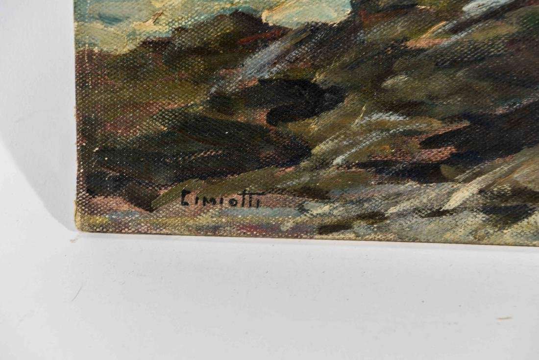 GUSTAV CIMOTTI (AMERICAN 1875-1969) O/B - 4