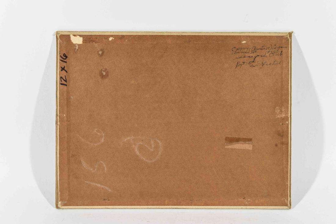 GUSTAV CIMOTTI (AMERICAN 1875-1969) O/B - 8