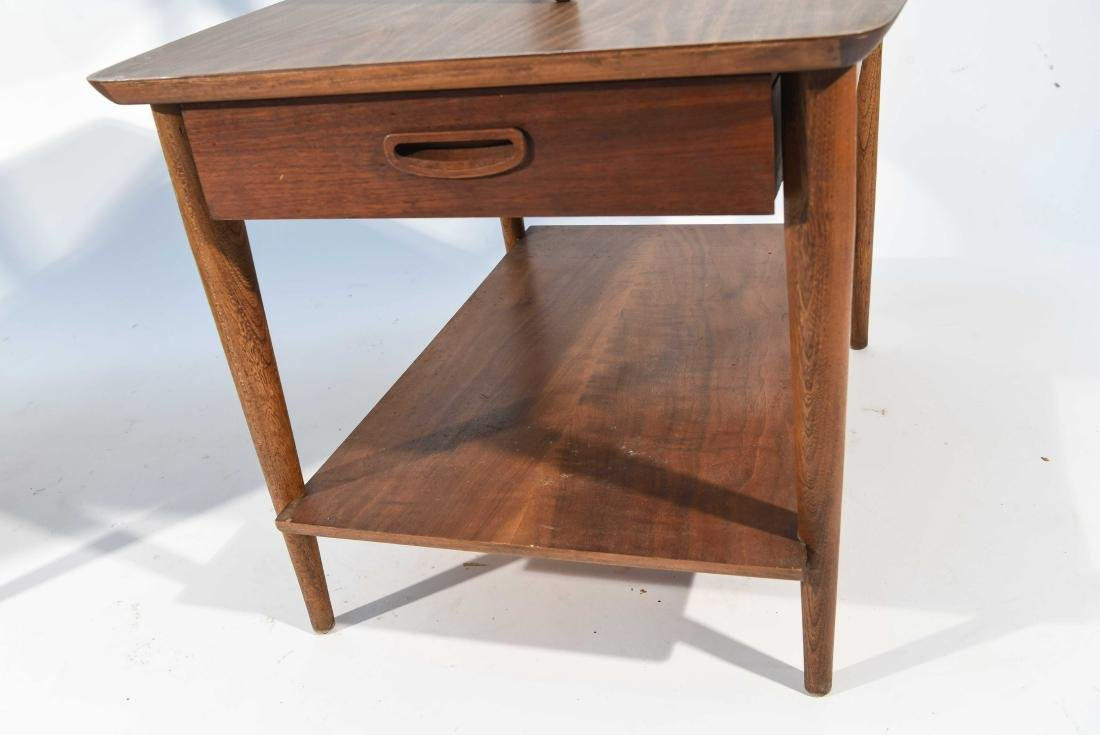 (3) MID-CENTURY LANE COFFEE AND END TABLES - 7