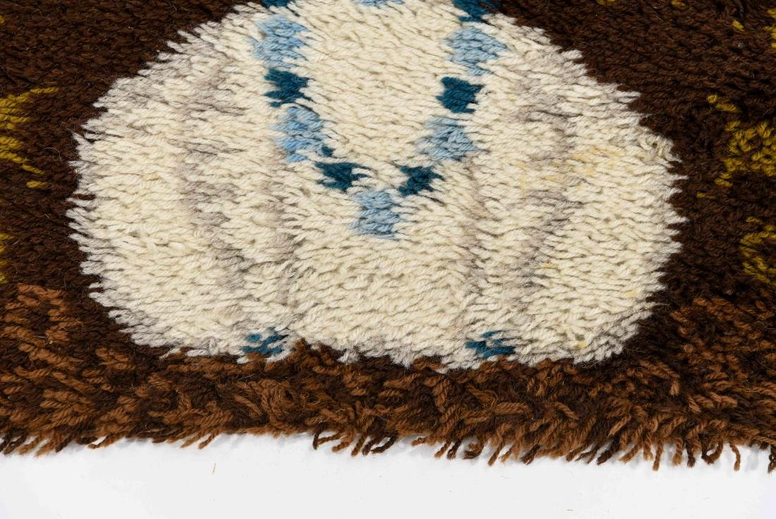 DANISH RYA RUG W/ CAT - 2
