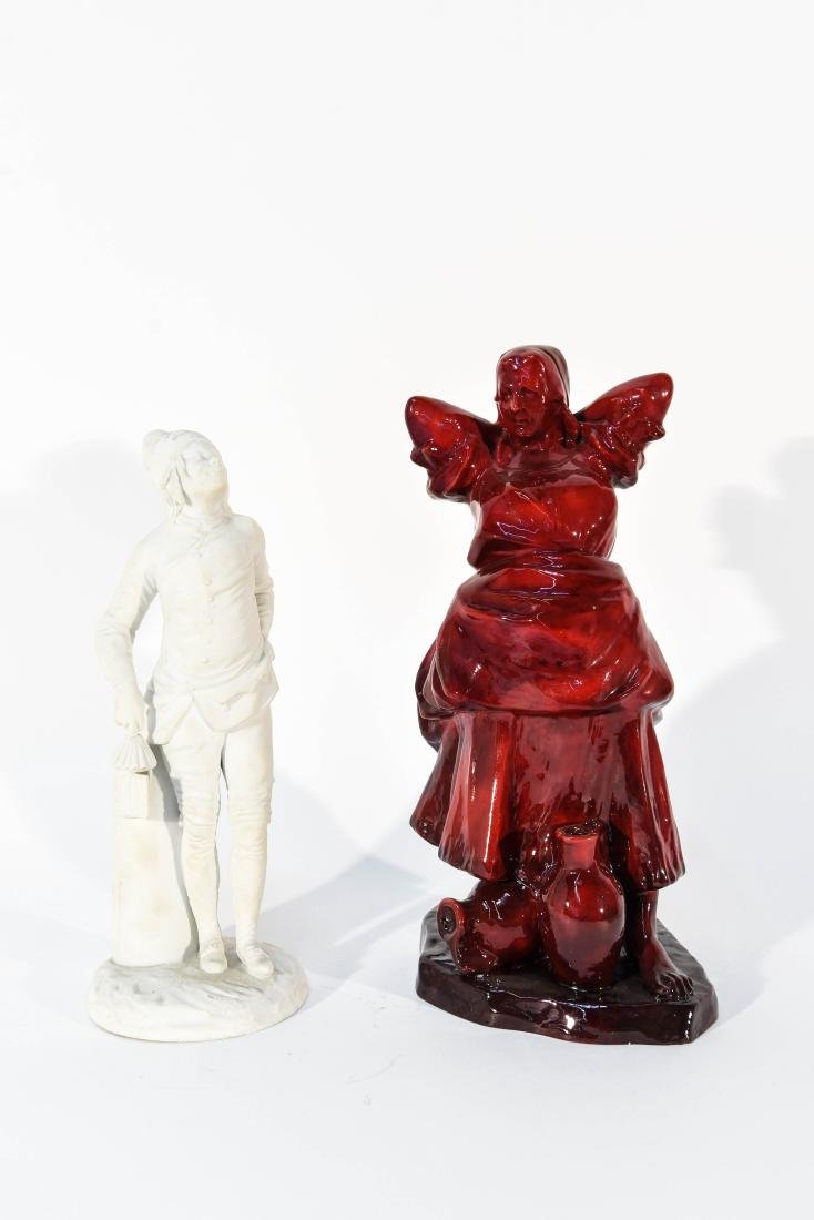 PORCELAIN FIGURES GROUPING ZSOLNAY & PARIAN