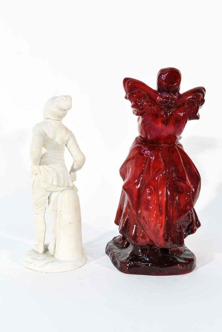 PORCELAIN FIGURES GROUPING ZSOLNAY & PARIAN - 8