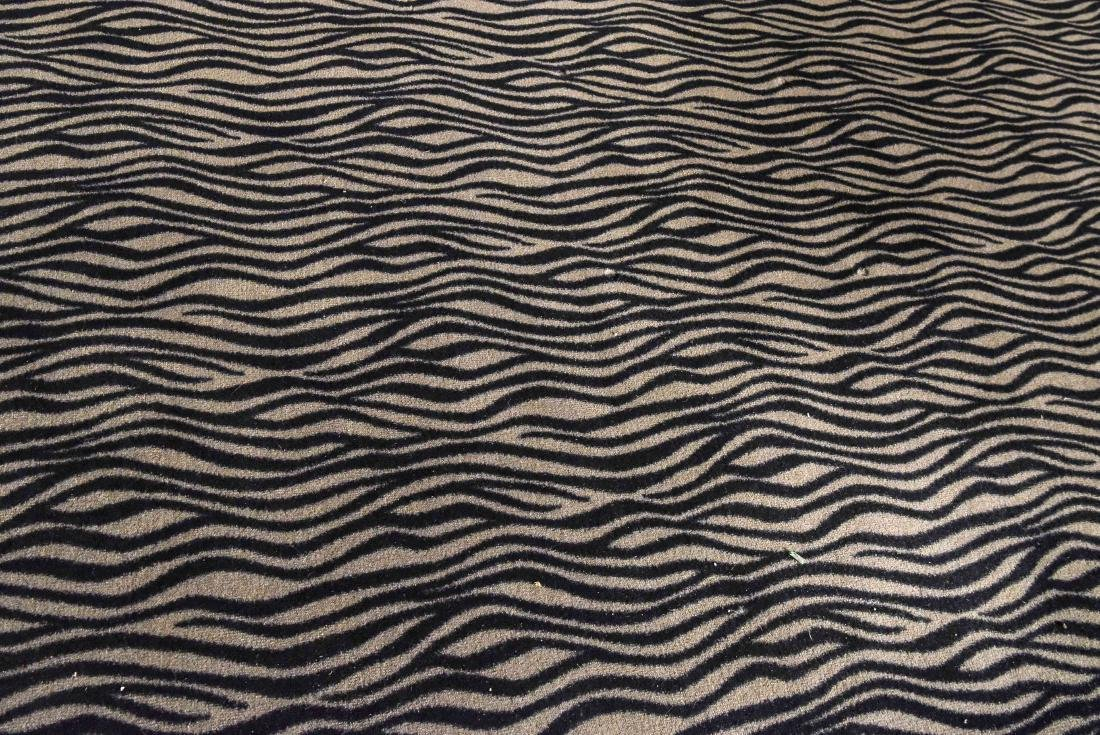 LARGE CONTEMPORARY HIDE PATTERN RUG - 7