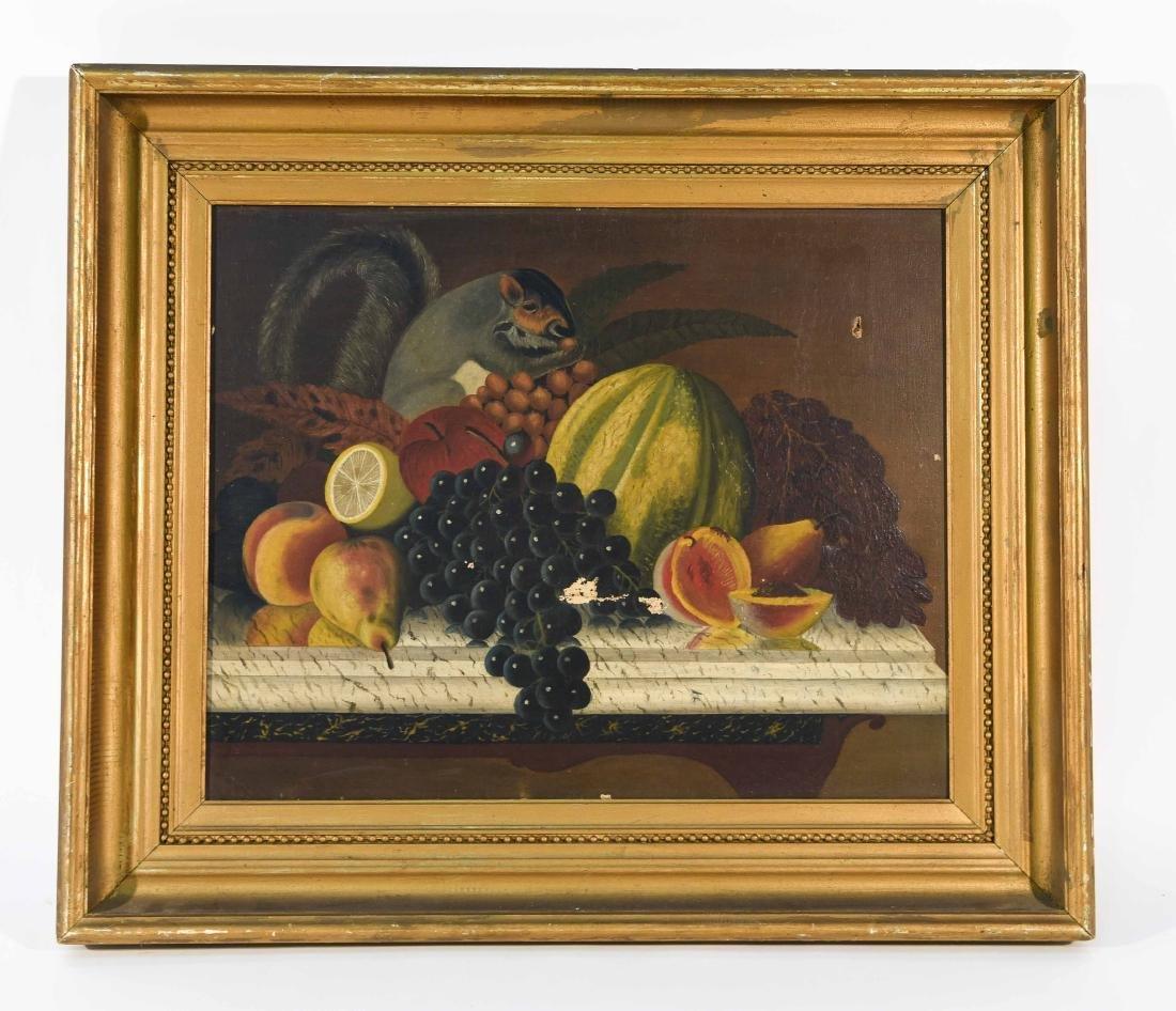 19TH CENTURY AMERICAN FOLK ART O/C