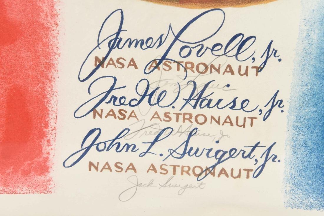 SIGNED POSTER PRINT BT NASA ASTRONAUT - 3