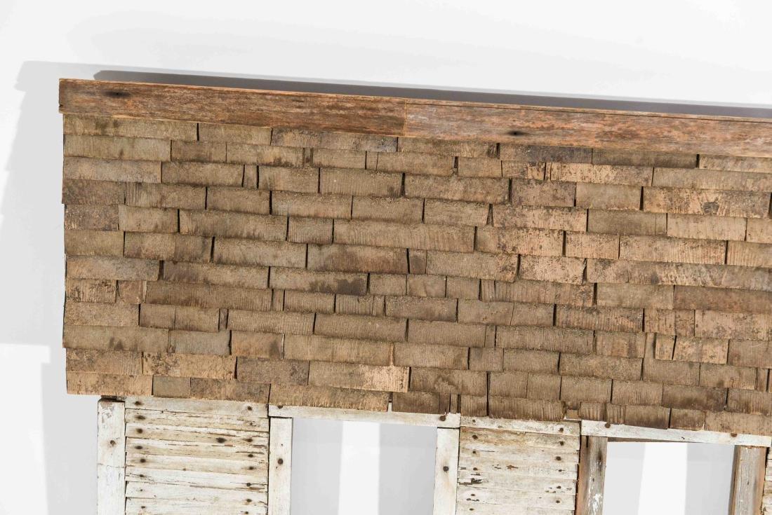 FOLK ART HOUSE WALL SCULPTURE - 2