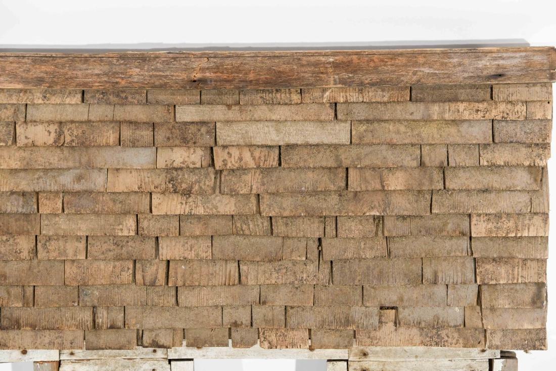 FOLK ART HOUSE WALL SCULPTURE - 5