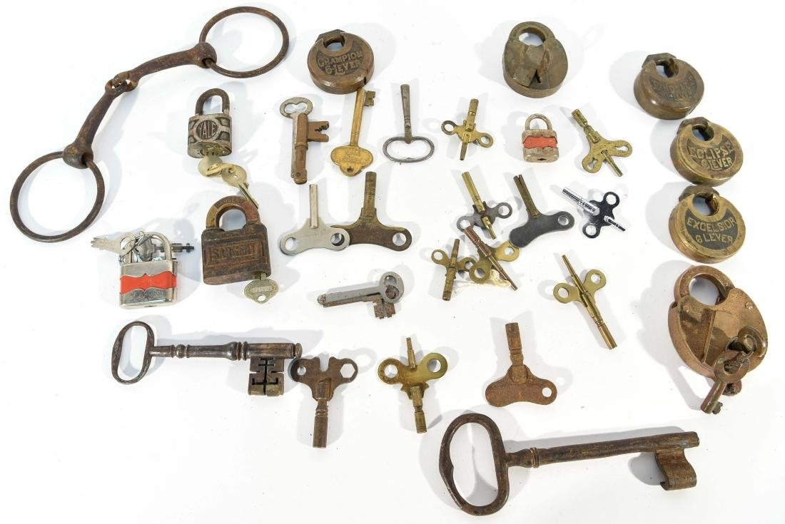 GROUPING OF LOCKS AND KEYS