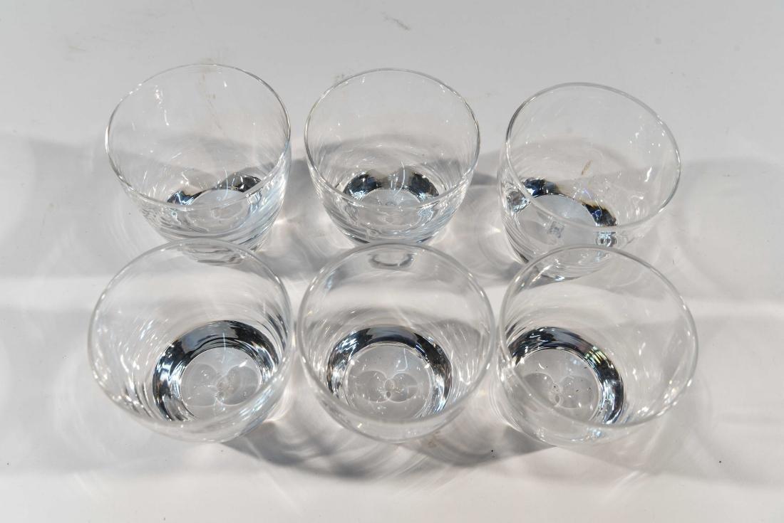 (6) STEUBEN GLASS TUMBLERS - 4