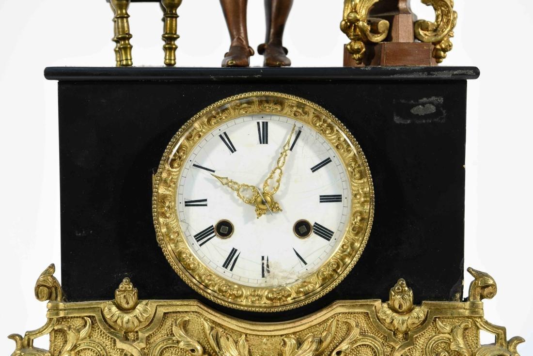 FIGURAL MANTLE CLOCK C.1840/50's - 2