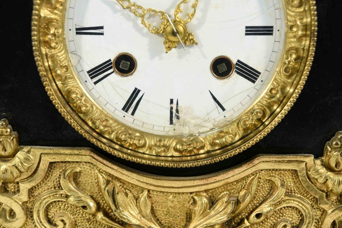 FIGURAL MANTLE CLOCK C.1840/50's - 4