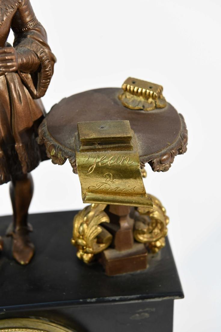FIGURAL MANTLE CLOCK C.1840/50's - 5