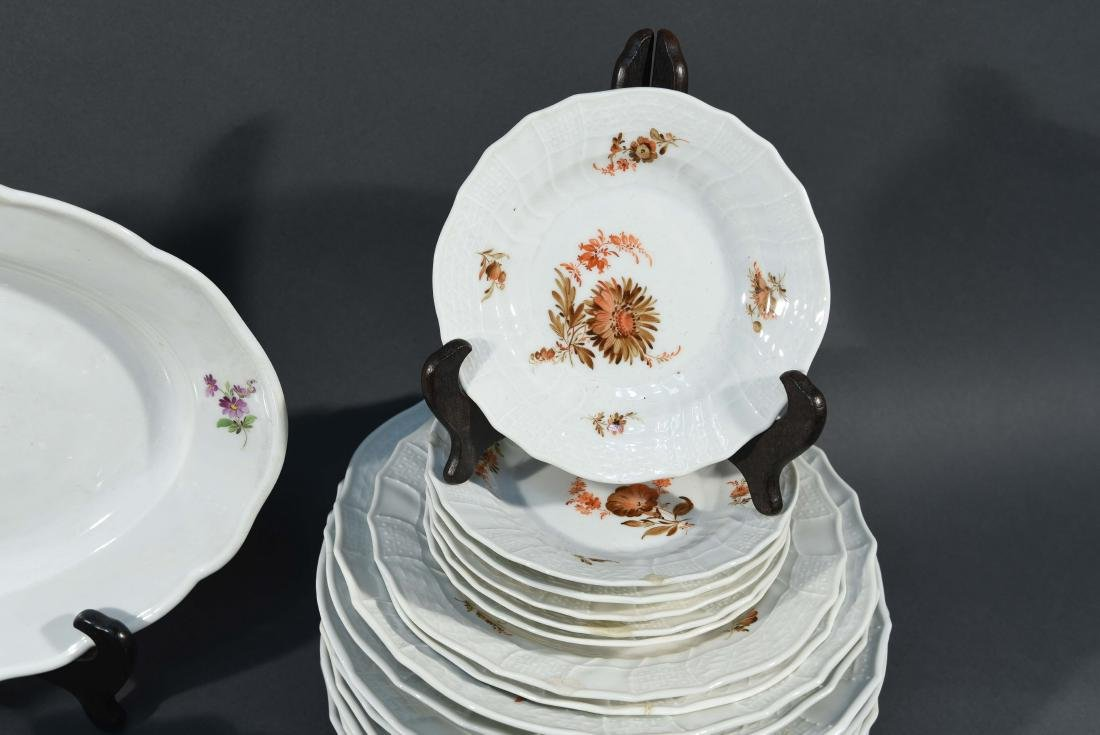 LARGE MEISSEN PORCELAIN GROUPING - 5