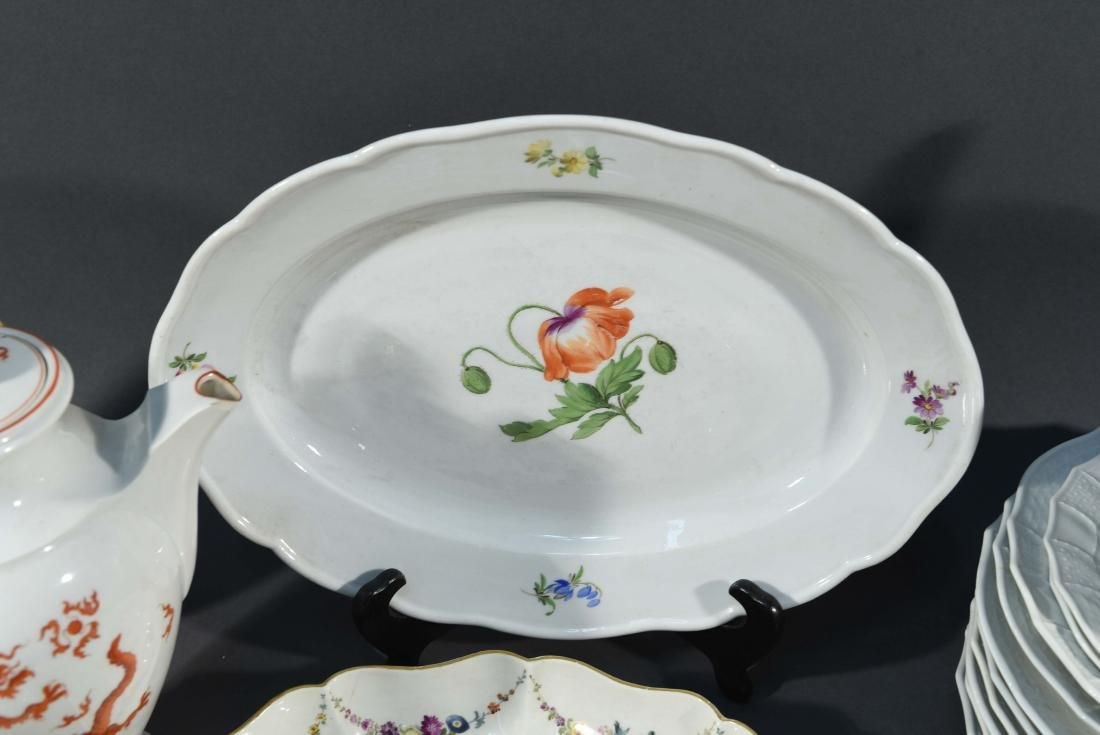 LARGE MEISSEN PORCELAIN GROUPING - 6