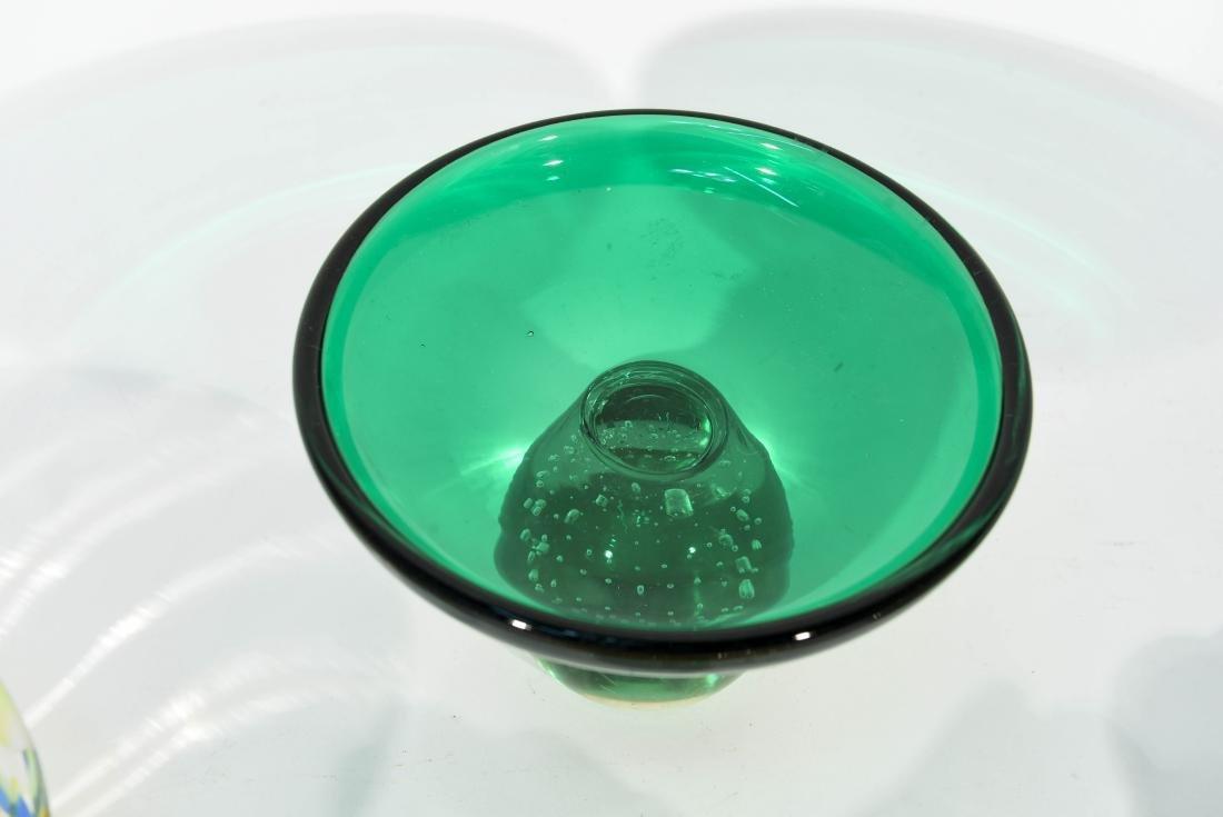 (4) PIECES OF ITALIAN GLASS ETC - 4