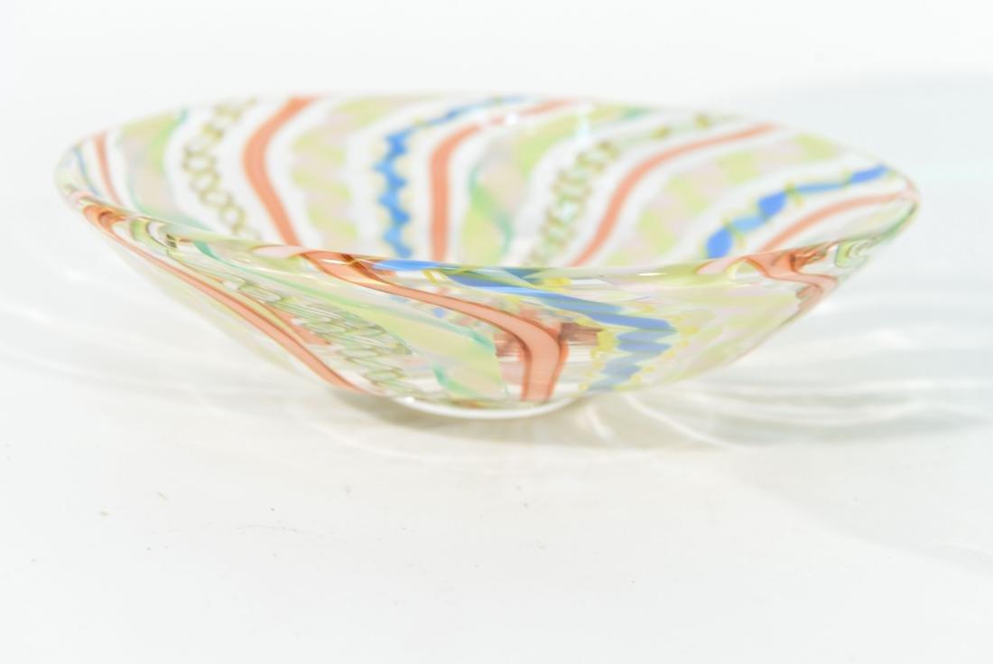(4) PIECES OF ITALIAN GLASS ETC - 7