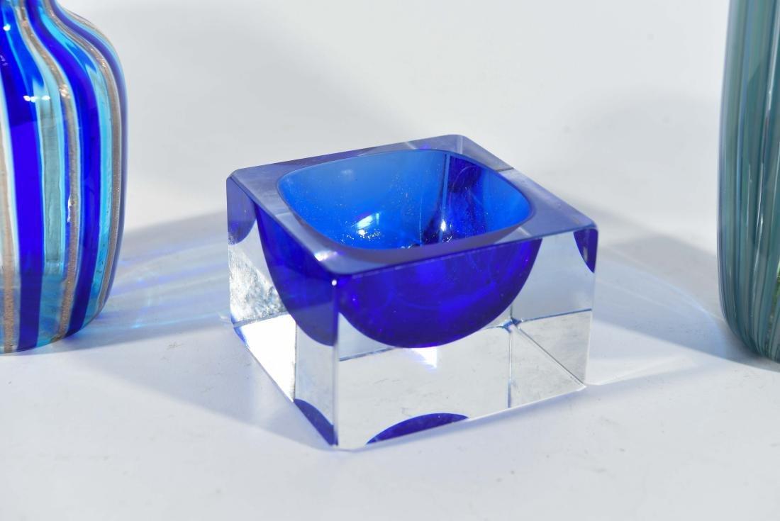 (3) PIECES OF ITALIAN ART GLASS ETC - 2