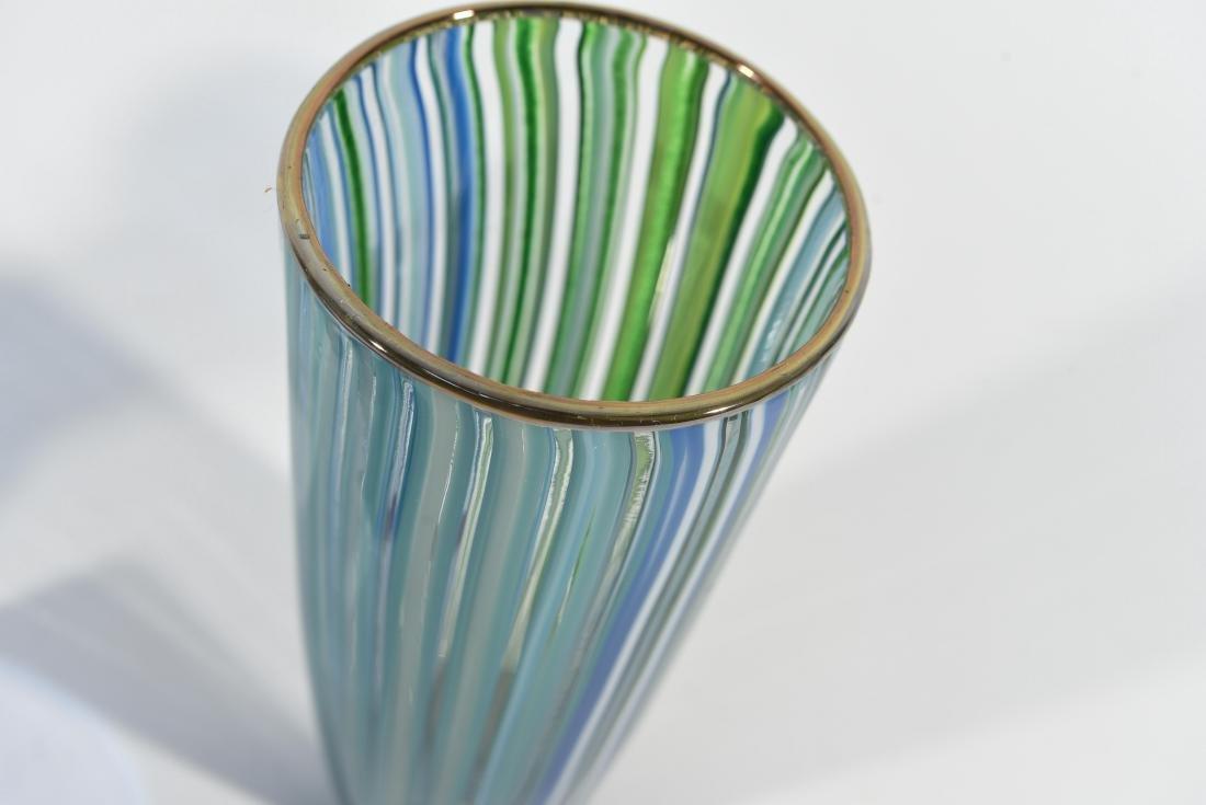 (3) PIECES OF ITALIAN ART GLASS ETC - 6