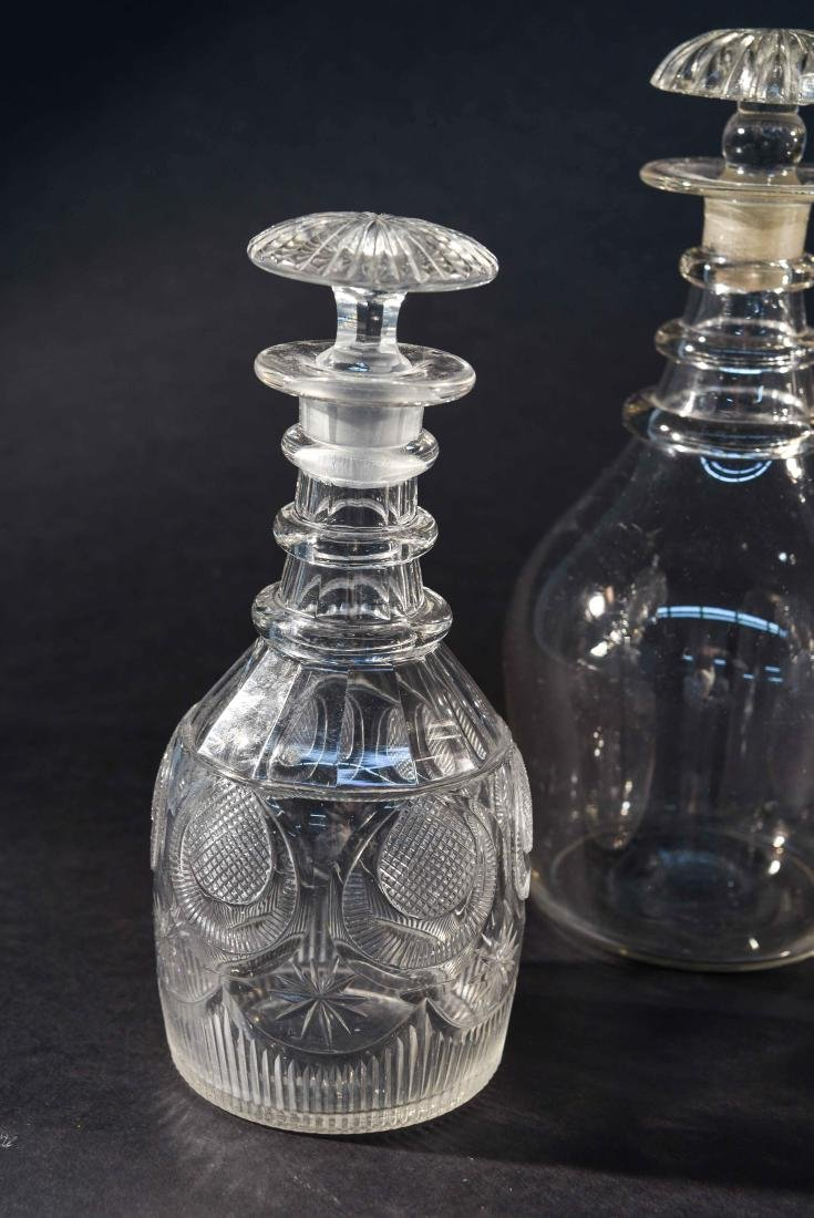 GROUPING OF 6 DECANTERS - 2