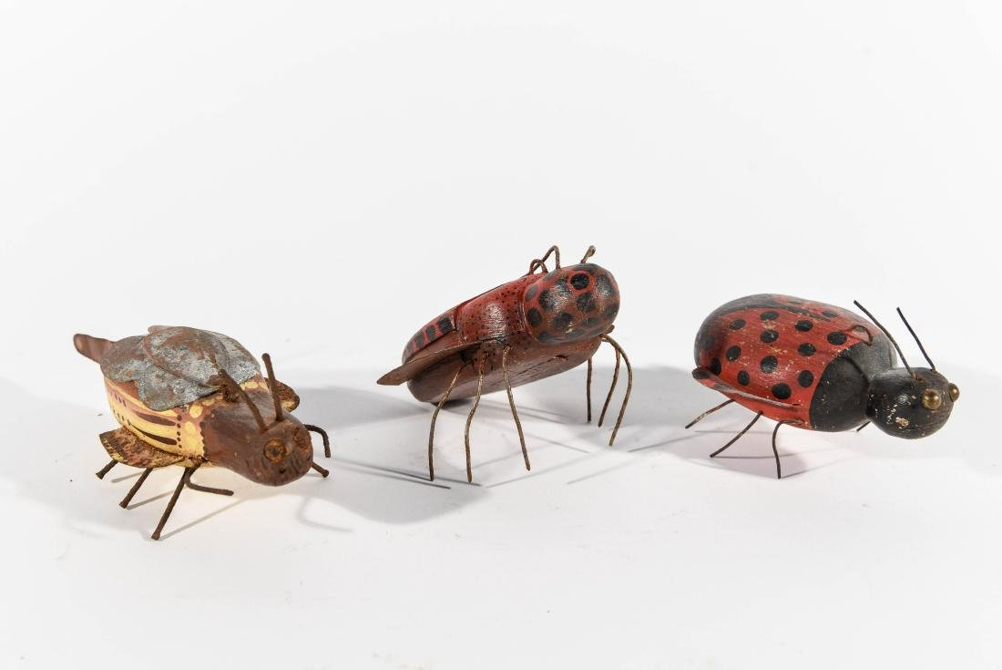 GROUPING OF BUGS ICE FISHING DECOYS