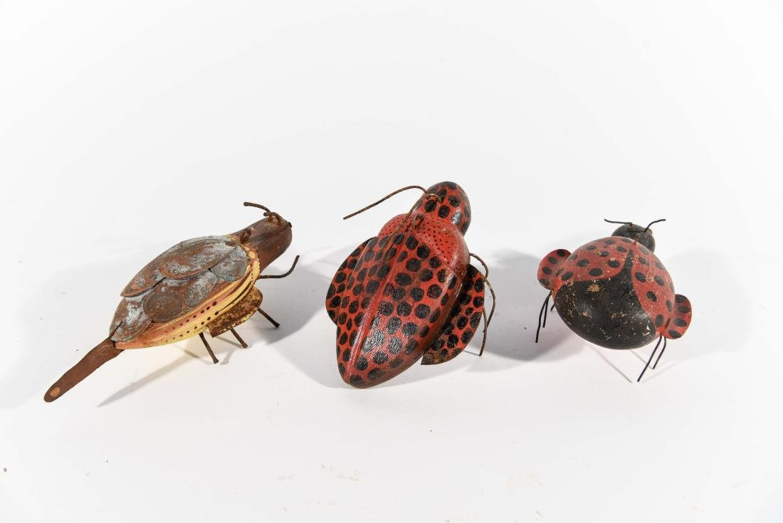 GROUPING OF BUGS ICE FISHING DECOYS - 5