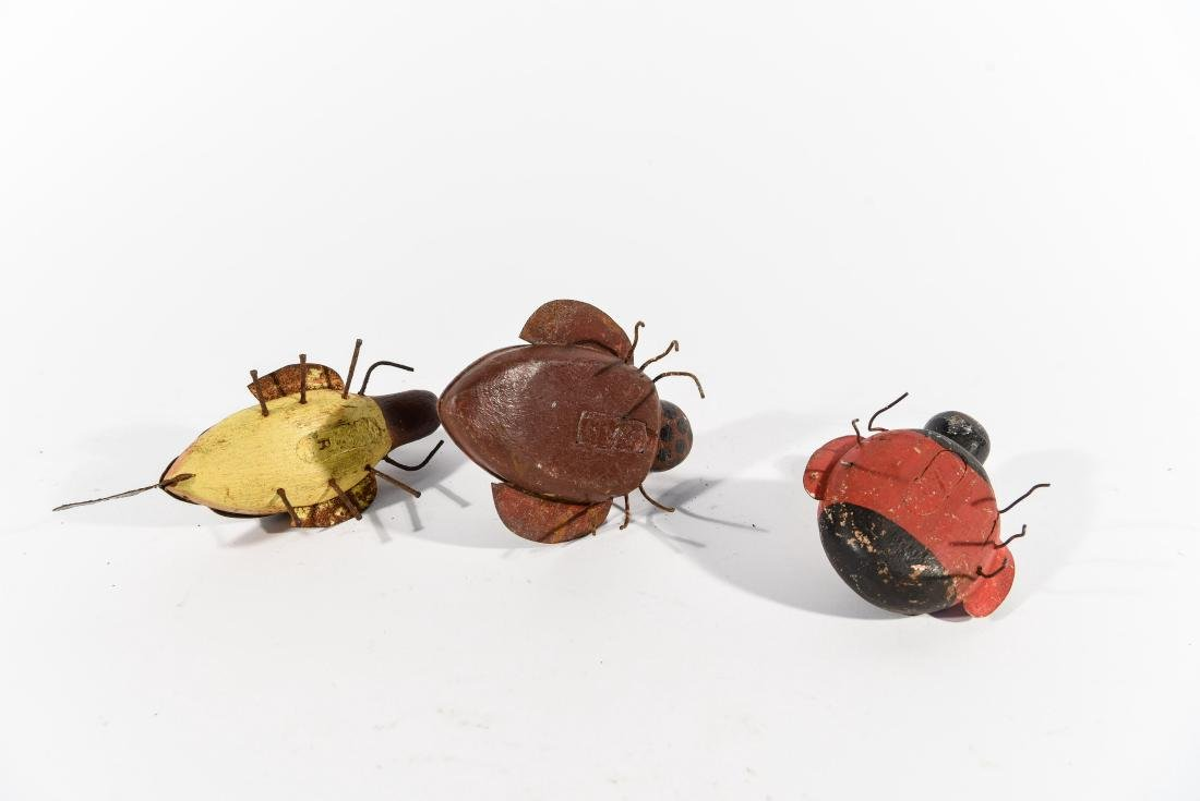GROUPING OF BUGS ICE FISHING DECOYS - 6