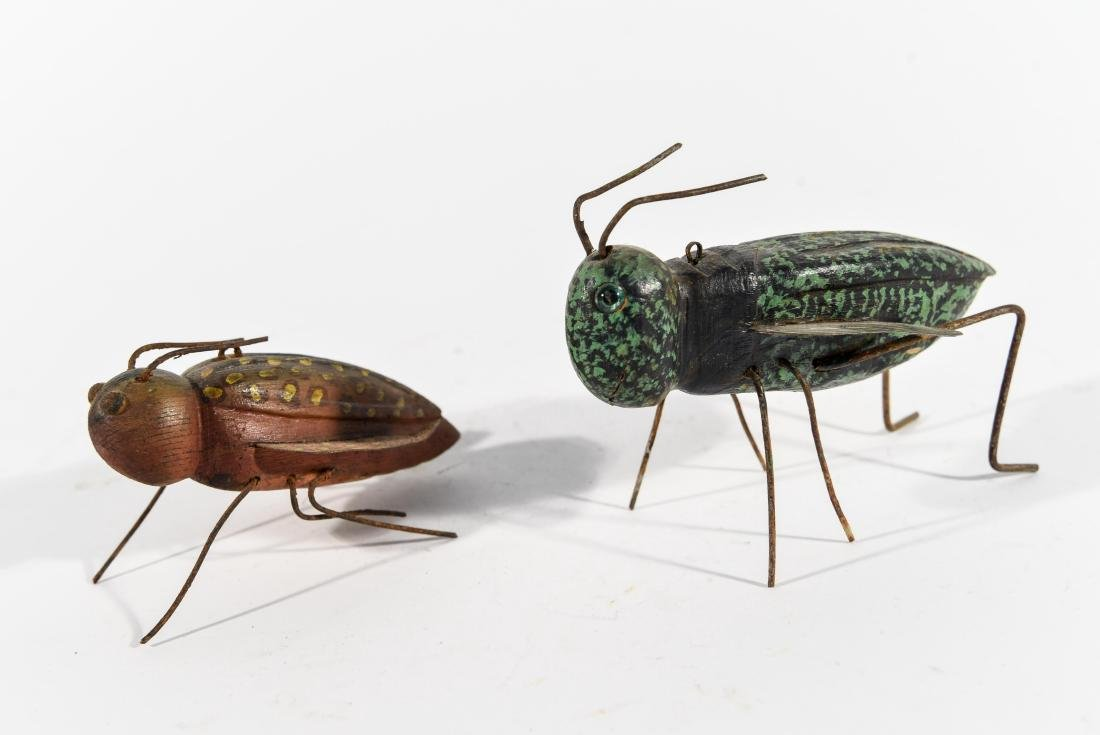 PAIR OF INSECT ICE FISHING DECOYS - 4