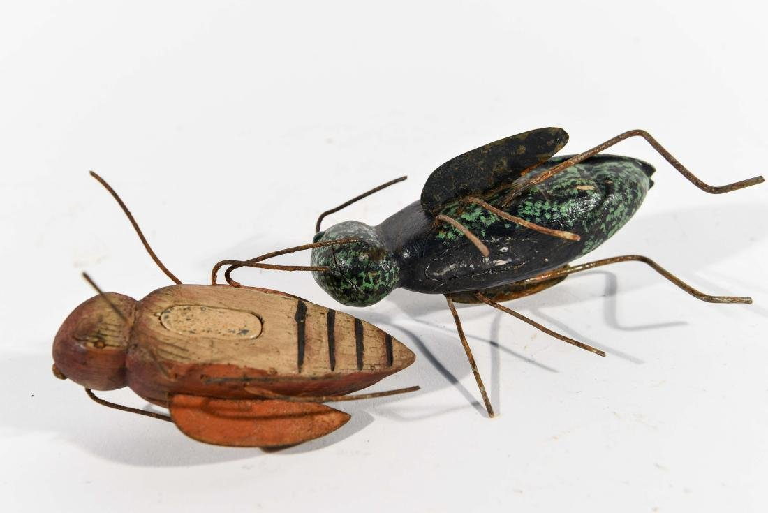 PAIR OF INSECT ICE FISHING DECOYS - 5