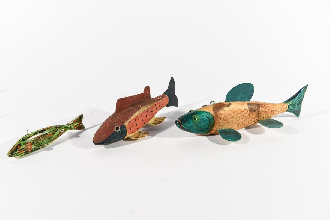 (3) FISH ICE FISHING DECOYS - 5