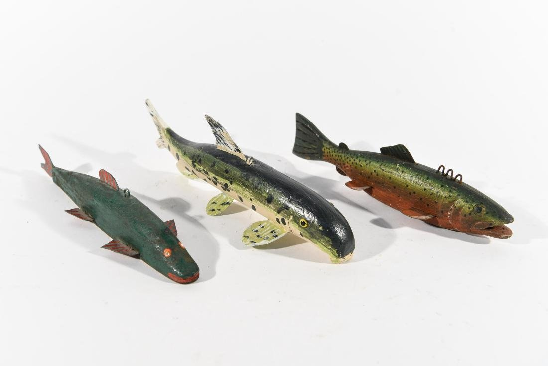 (3) FISH ICE FISHING DECOYS