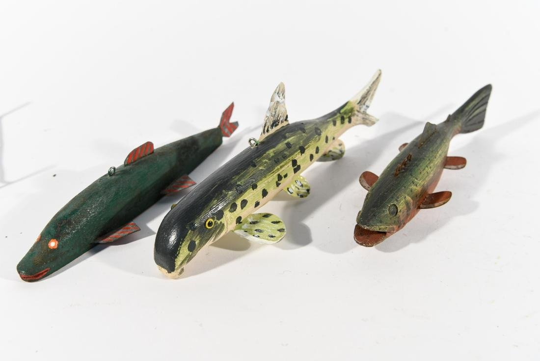 (3) FISH ICE FISHING DECOYS - 5