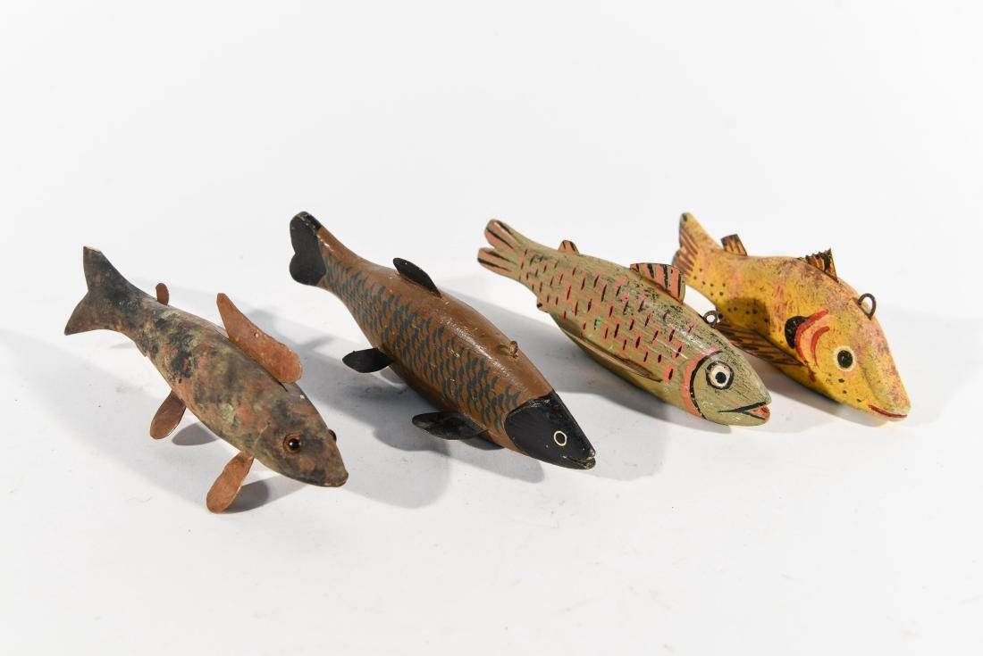 (4) FISH ICE FISHING DECOYS