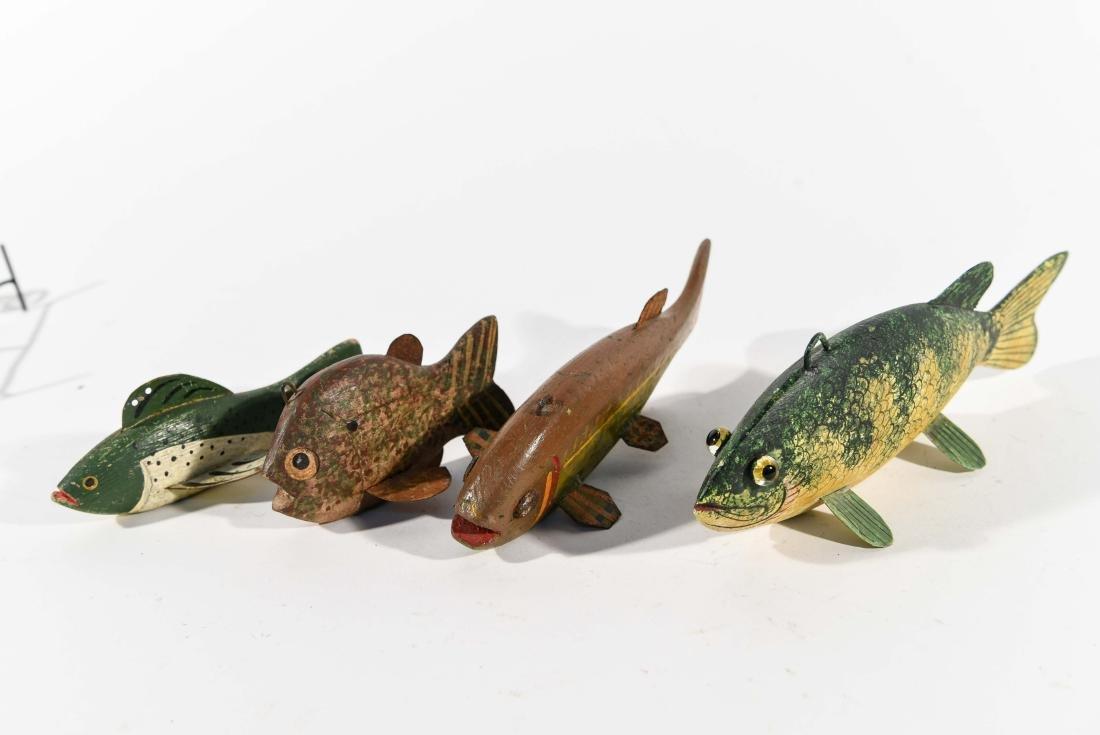 (4) FISH ICE FISHING DECOYS - 6