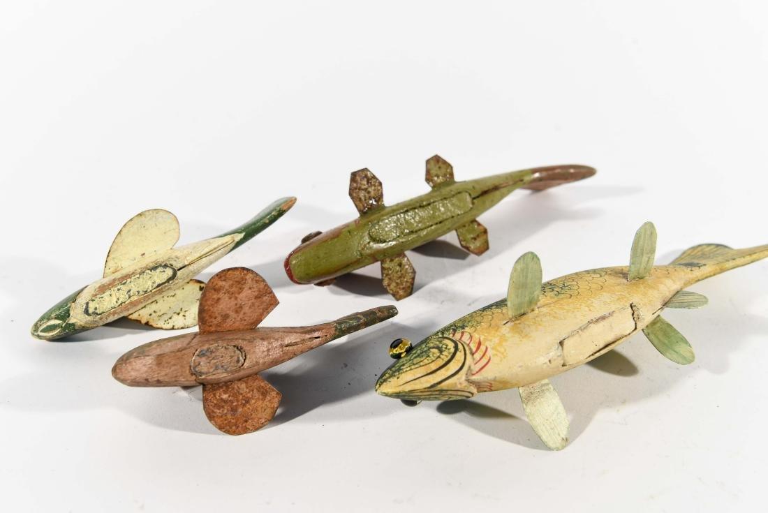 (4) FISH ICE FISHING DECOYS - 7