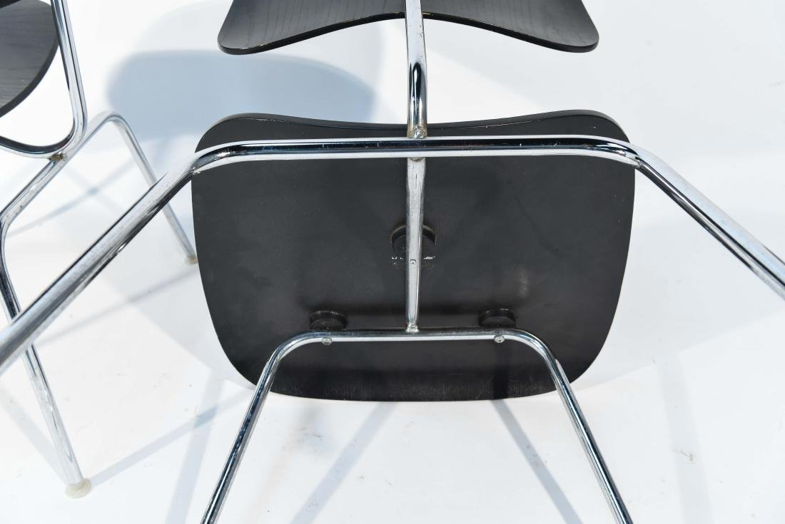 PAIR OF EAMES DCM CHAIRS - 8