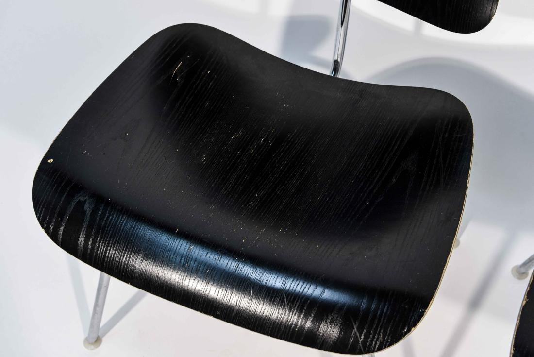 PAIR OF EAMES DCM CHAIRS - 3