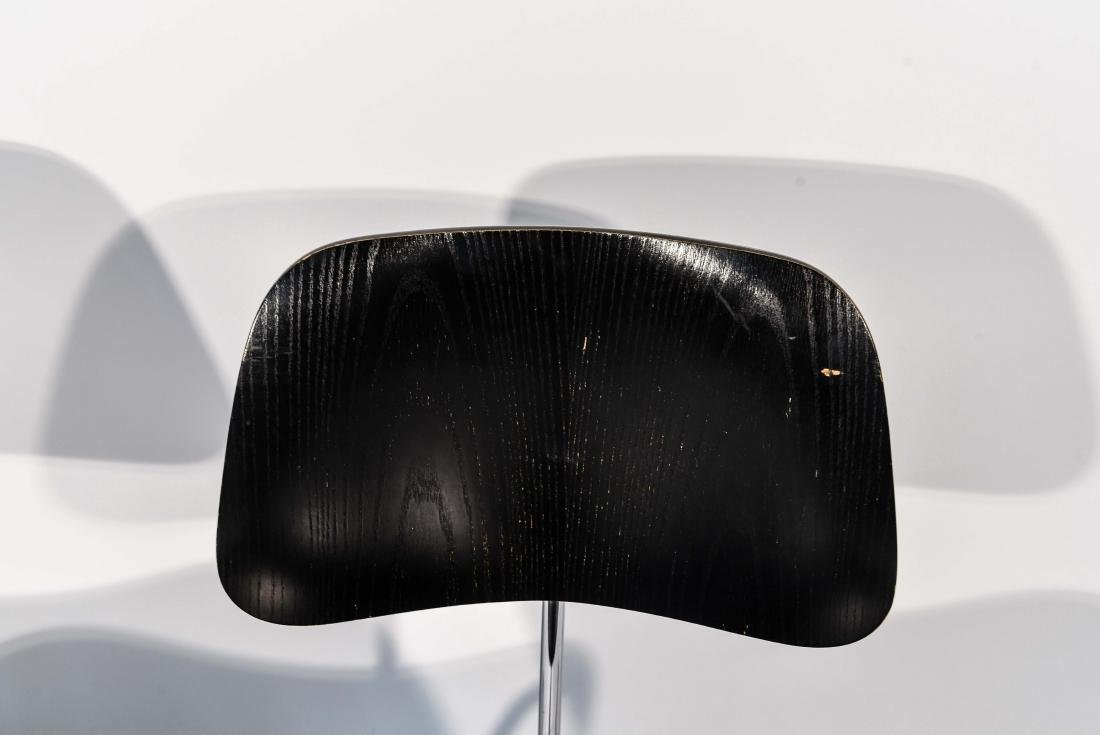 PAIR OF EAMES DCM CHAIRS - 4