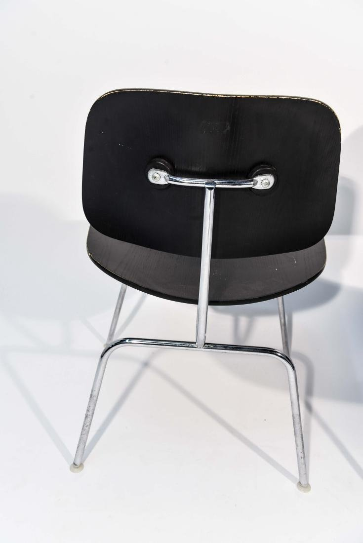 PAIR OF EAMES DCM CHAIRS - 7
