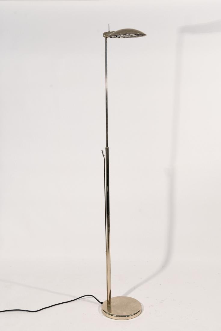 1970'S BRASS ADJUSTABLE FLOOR LAMP