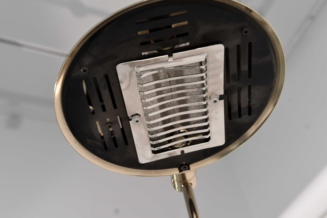1970'S BRASS ADJUSTABLE FLOOR LAMP - 4