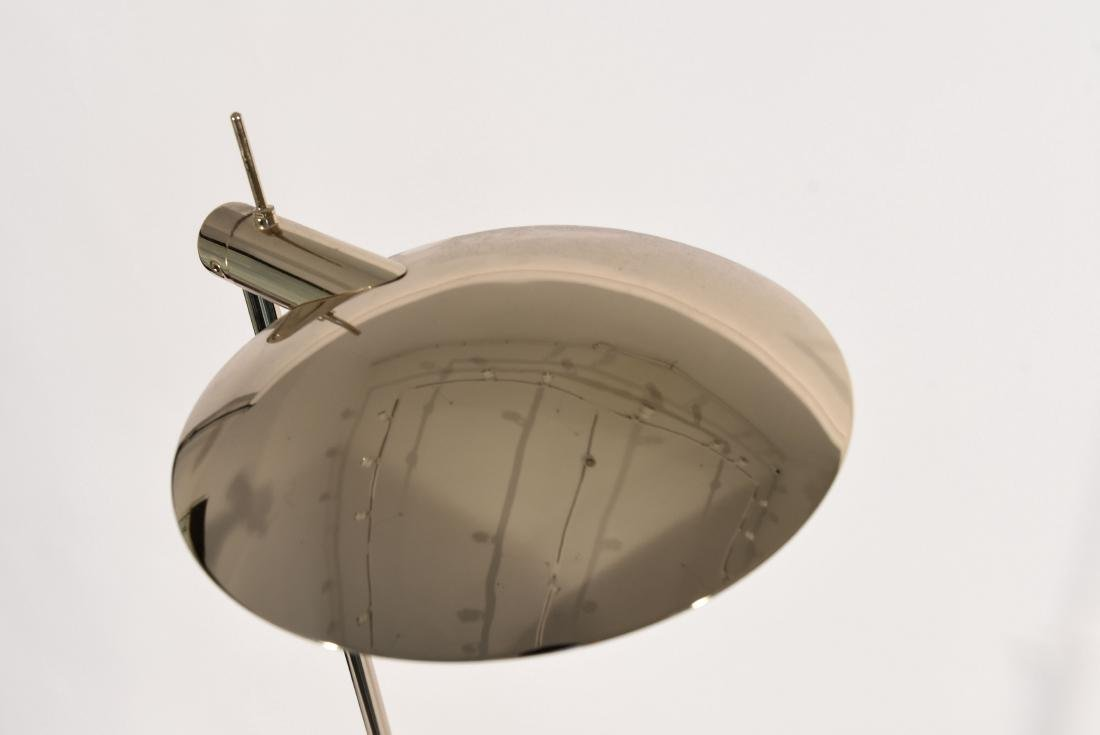 1970'S BRASS ADJUSTABLE FLOOR LAMP - 5