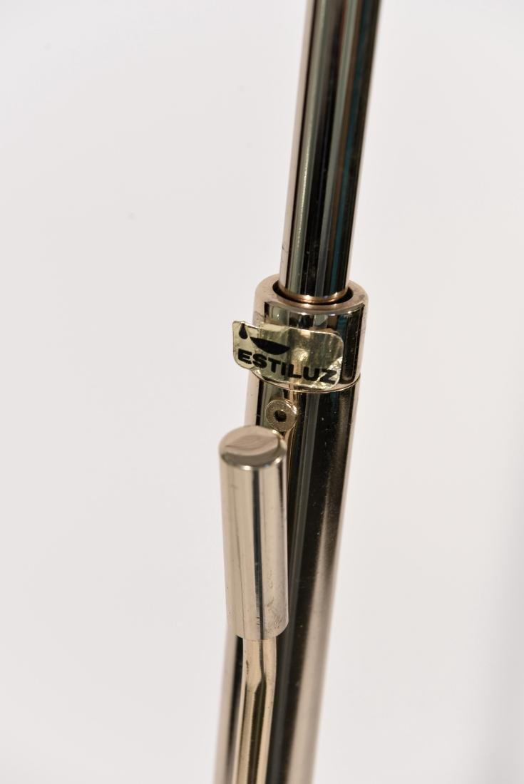 1970'S BRASS ADJUSTABLE FLOOR LAMP - 7