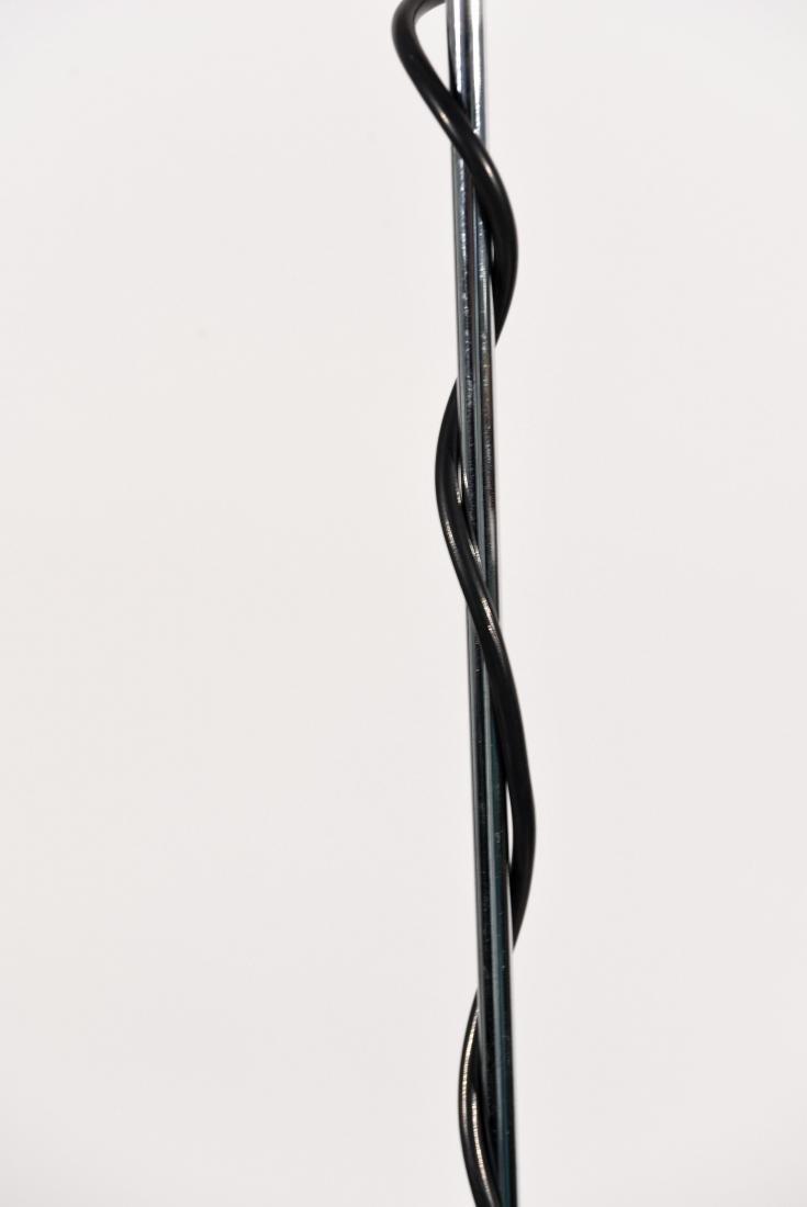 1970'S BLACK ADJUSTABLE FLOOR LAMP - 5