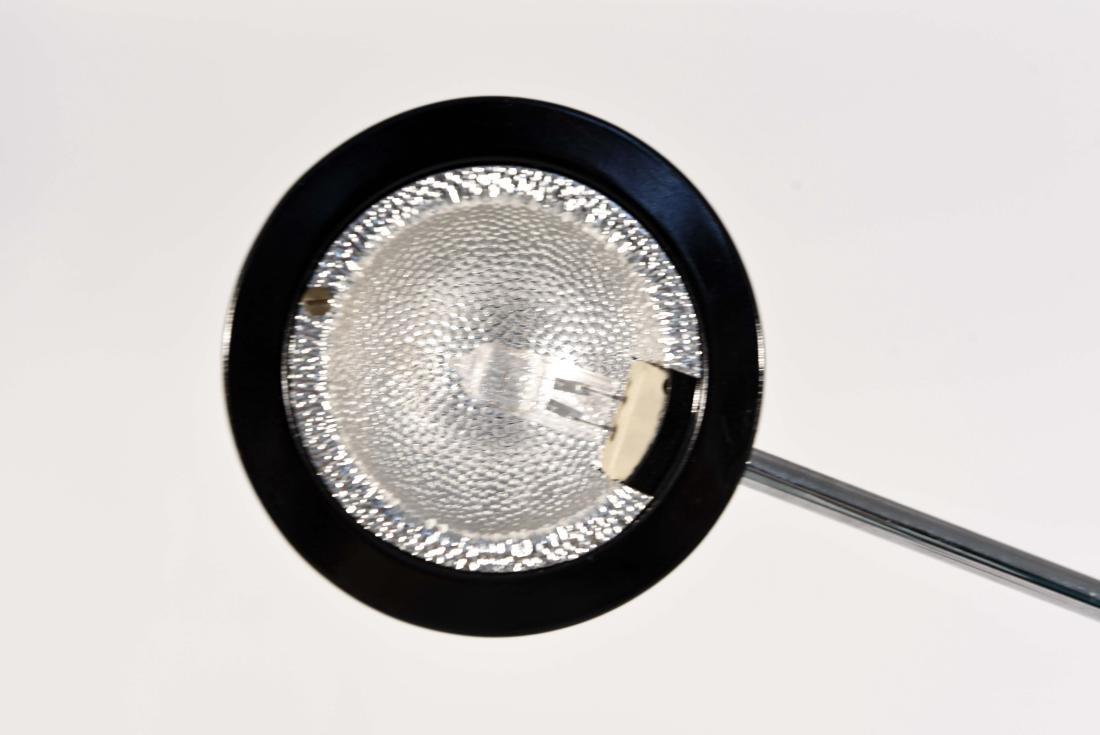 1970'S BLACK ADJUSTABLE FLOOR LAMP - 6