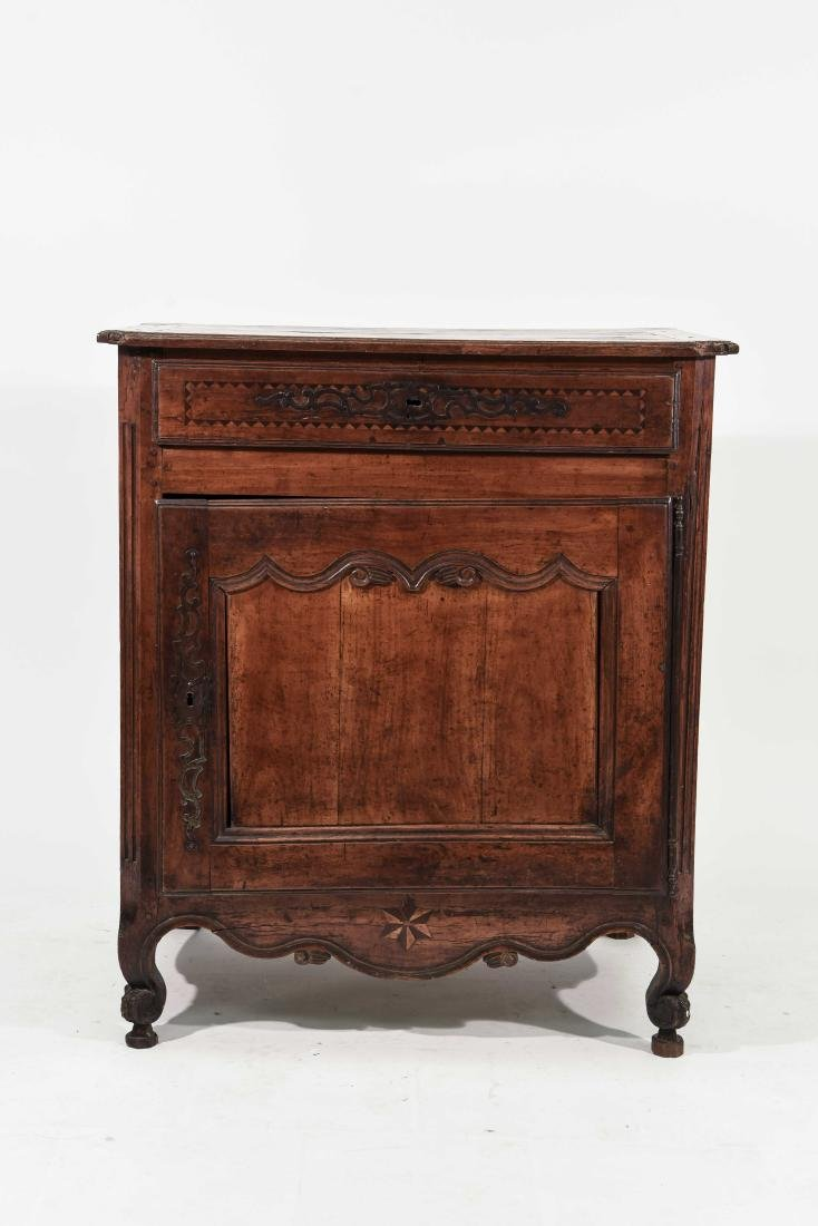 FRENCH COUNTRY INLAID CABINET
