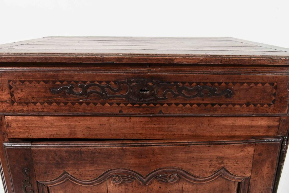 FRENCH COUNTRY INLAID CABINET - 3