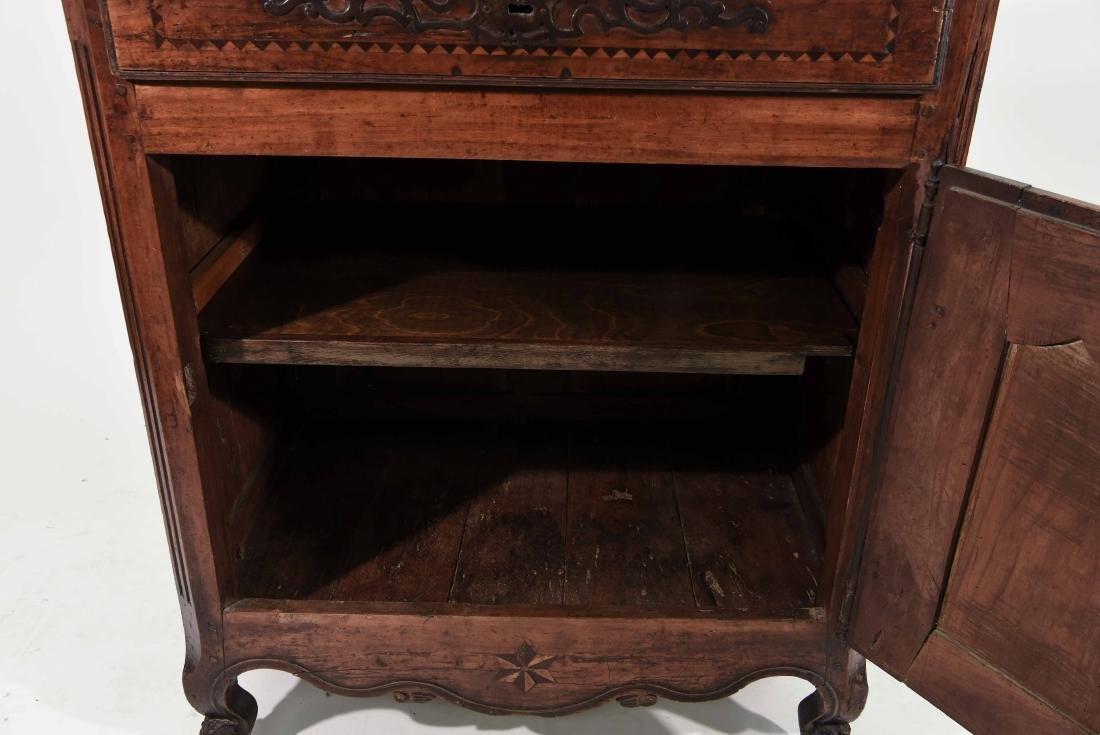 FRENCH COUNTRY INLAID CABINET - 6
