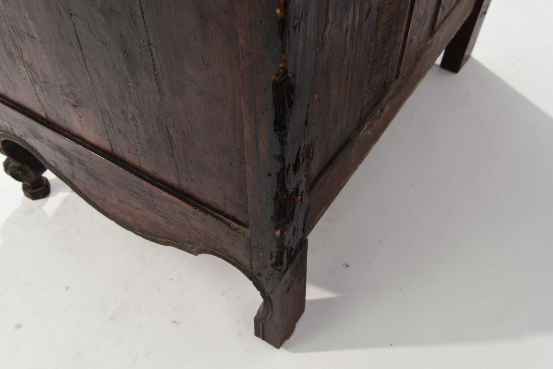 FRENCH COUNTRY INLAID CABINET - 9