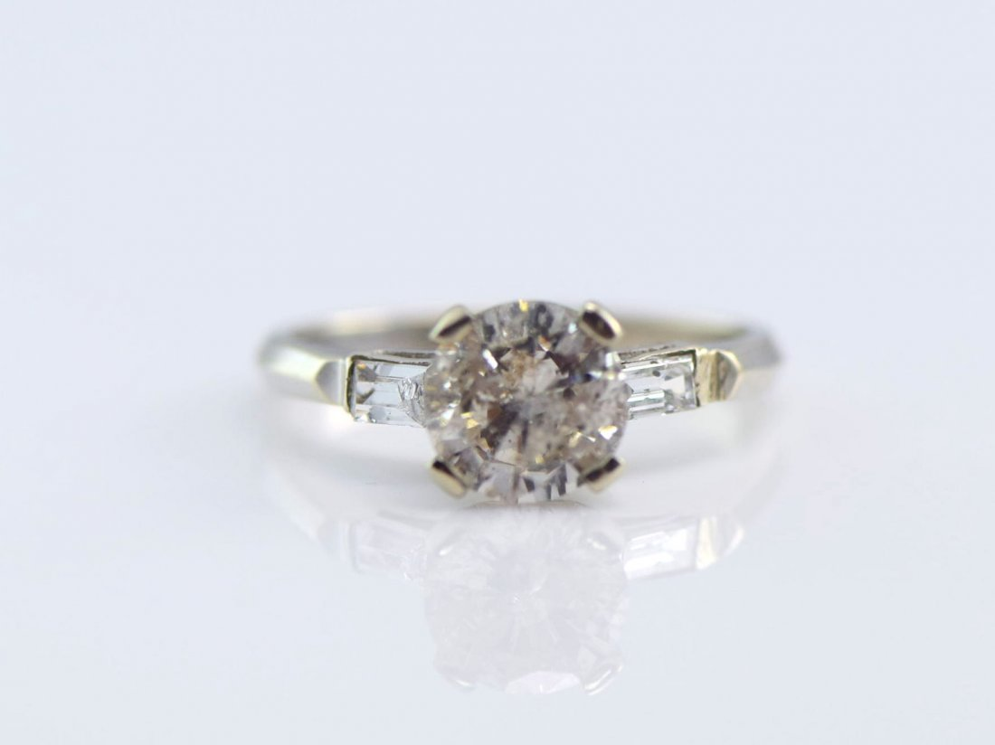 5 Gold Diamond and Simulated Diamond Rings. - 6