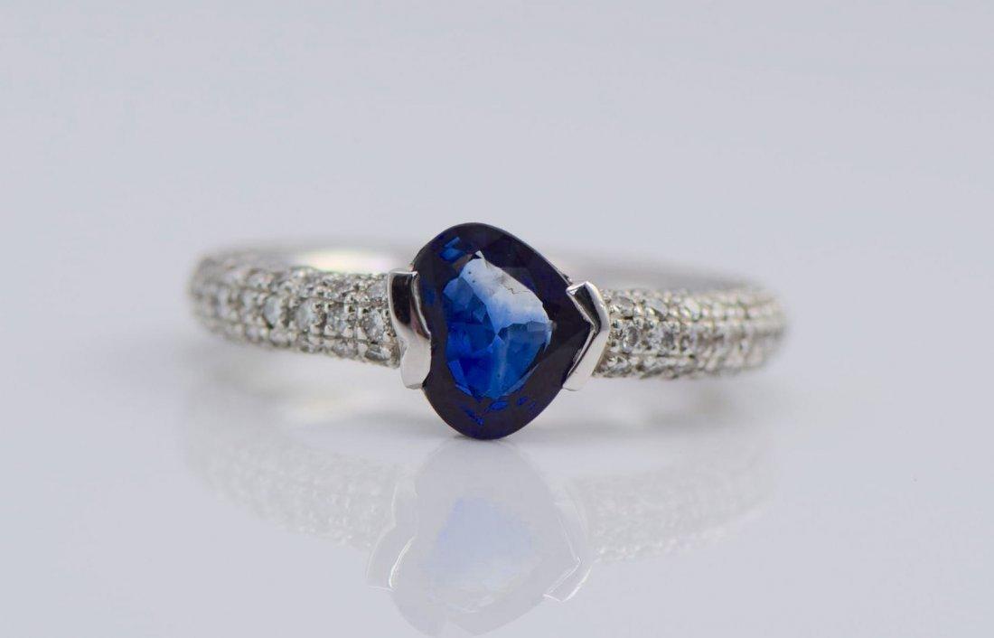 4 Gold Sapphire, Diamond, Ruby & Emerald Rings. - 4
